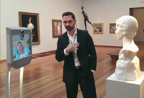 Telepresence robots make museums accessible to everyone. | Museum, Interaction and Technology | Scoop.it