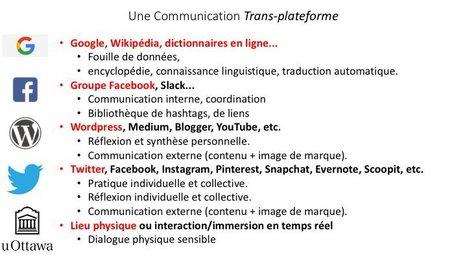 La communication Trans-plateforme de Pierre Levy | Narration transmedia et Education | Scoop.it