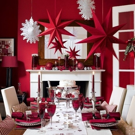 Holiday Christmas decoration for the household   Augusta Interiors - Global Inspirations   Scoop.it