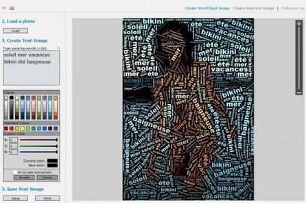 Des nuages de mots en images, Typo Effects | Trucs et astuces du net | Scoop.it