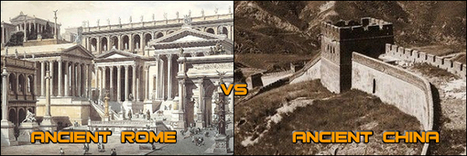 Ancient Rome Vs Ancient China - FactPile | Ancient World Civilizations (cont.) | Scoop.it