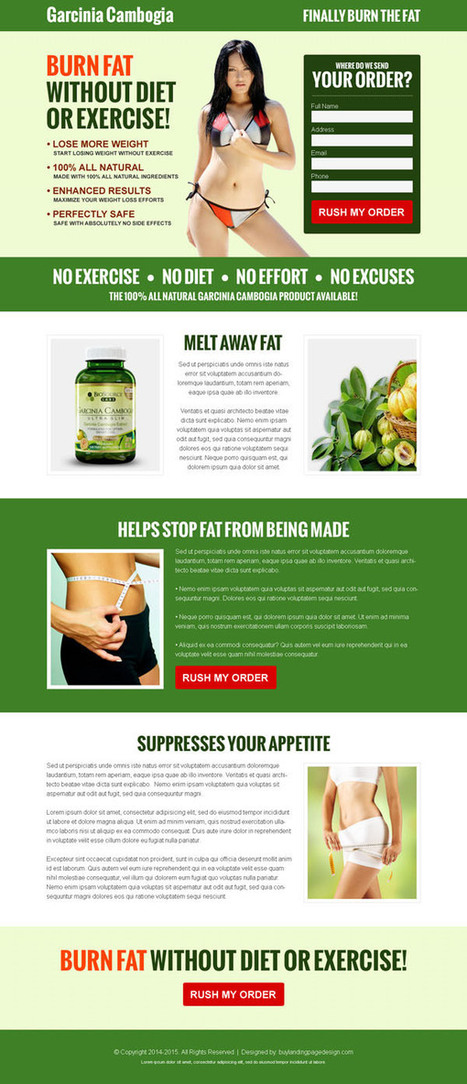 Do not buy: landing page design templates for d...