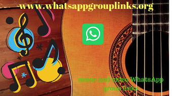 JOIN MUSIC & VIDEO WHATSAPP GROUP LINKS LIS