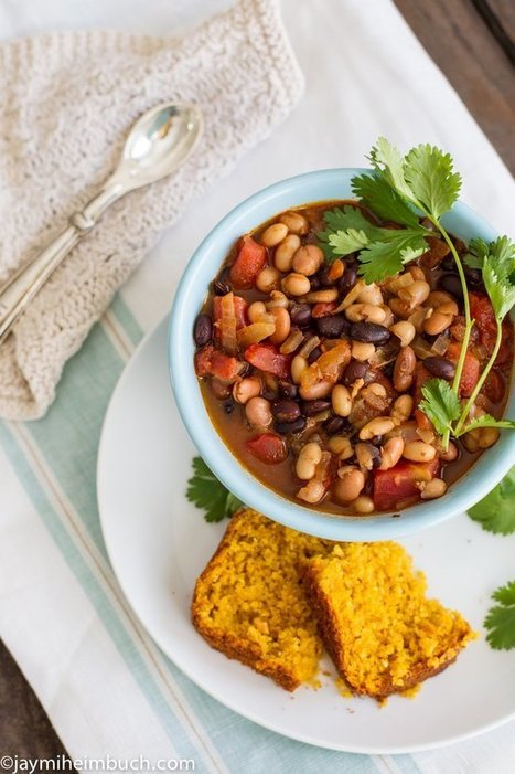 Spicy Three-Bean Chipotle Chili | 4-Hour Body Bean Cookbook | Scoop.it