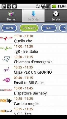 TV Guide Italy - Android app on AppBrain | Android Apps | Scoop.it