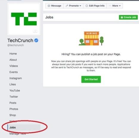 Facebook et LinkedIn vont peut-être devenir concurrents   BeginWith   Scoop.it