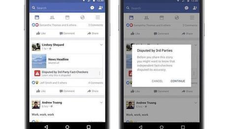 Facebook déploie son filtre contre la désinformation en Allemagne | Actu des médias | Scoop.it