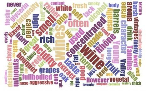 Novas palavras para descrever um vinho? A Tesco procura | Notícias escolhidas | Scoop.it