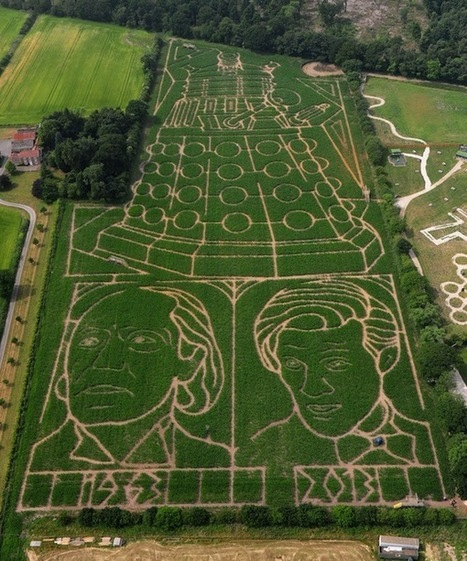 There's a Giant Doctor Who-Themed Corn Maze In England | Geek On | Scoop.it
