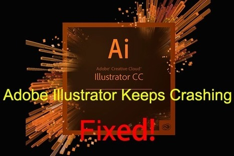 Perfect Solutions to Adobe Illustrator Keeps Cr