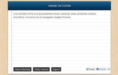 Dictation, usa tu voz para dictar emails y documentos en Chrome | MEDIA´TICS | Scoop.it