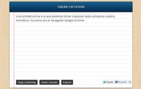 Dictation, usa tu voz para dictar emails y documentos en Chrome | Educacion en la era Digital | Scoop.it