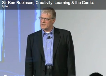 Sir Ken Robinson, March 2011, Learning Without Frontiers - Technology Integration in Education | Scriveners' Trappings | Scoop.it