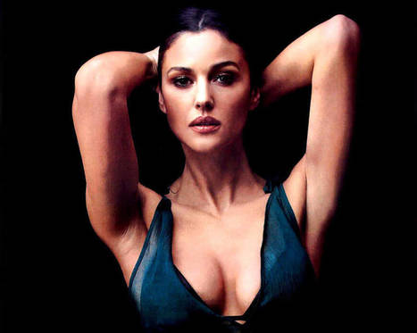 Incredible Hot Monica Bellucci Sexy Hd Wallpape