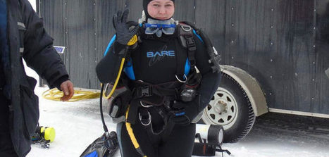 Caribbean dives and descending under frozen lake both a lark | All about water, the oceans, environmental issues | Scoop.it