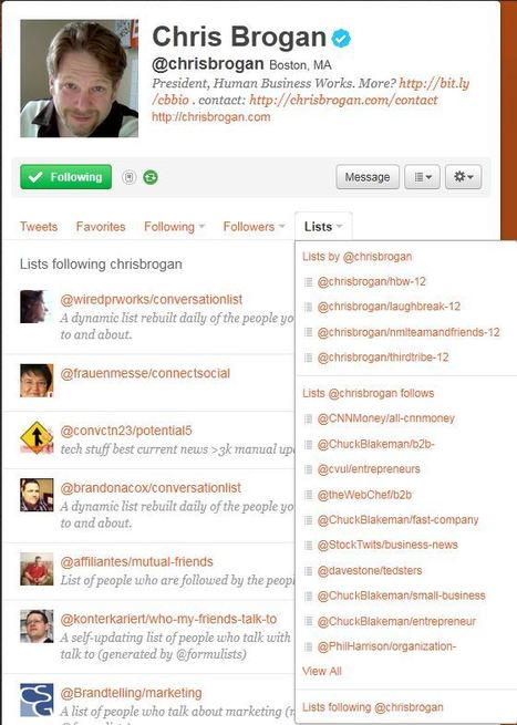 Build Your Social Media Influence With Twitter Lists | Marketing Strategy and Business | Scoop.it
