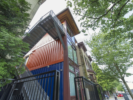 Photos: Innovative homes made from shipping con... | Container Architecture | Scoop.it
