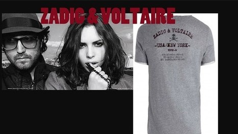 Flash mode : le T-shirt USA/ New York de Zadig & Voltaire | PARIS NEW YORK TV | Journal d'un Gentleman | Scoop.it