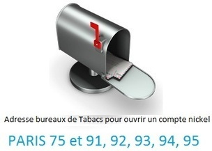 Compte Nickel Paris : La Liste des Buralistes pour Ouvrir un Compte! | crédit : Divers, humour et vidéos | Scoop.it