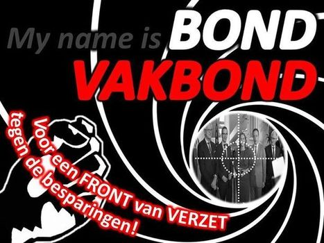 my name is bond vakbond wvs website voor. Black Bedroom Furniture Sets. Home Design Ideas