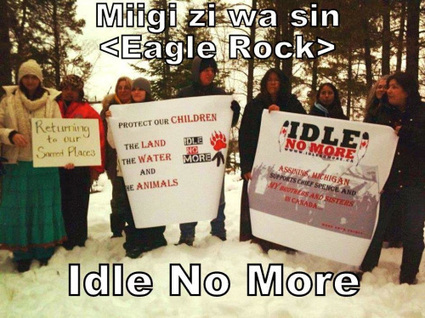 Stand for the Land | IDLE NO MORE WISCONSIN | Scoop.it