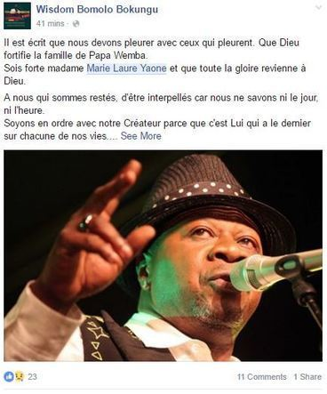 World - Papa Wemba: Congolese Music Legend Dies After Collapsing on Stage | Share Some Love Today | Scoop.it