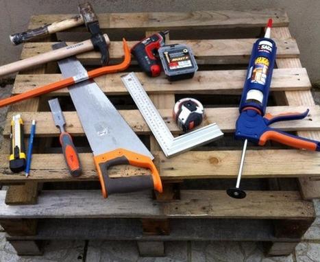 Créer du mobilier de jardin avec des pal...