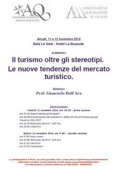Riprende l'attività di formazione del Consorzio Amalfi di Qualità | Accoglienza turistica | Scoop.it