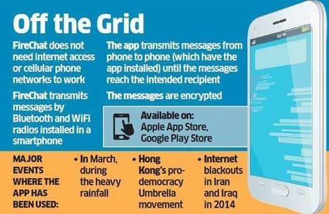 FireChat: This private chatting app works without a data plan or even a network - The Economic Times | Open Garden Press Coverage | Scoop.it