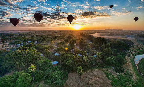 File:Balloons over Bagan, Burma - Wikimedia Commons | The Blog's Revue by OlivierSC | Scoop.it