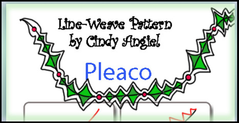 Pleaco Doodle Pattern on Snow Flakes | Artistic Line Designs-all free | Scoop.it