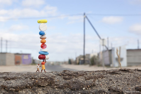 Little People - a tiny street art project | Kiosque du monde : Afrique | Scoop.it