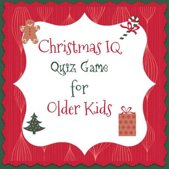Bible Lessons for Kids: Christmas IQ Quiz Game for Older Kids | Children's Ministry Ideas | Scoop.it