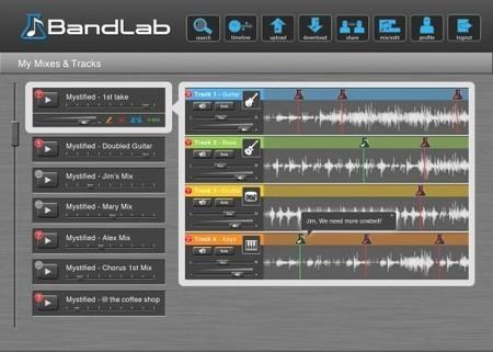 BandLab digital audio workstation flies into th