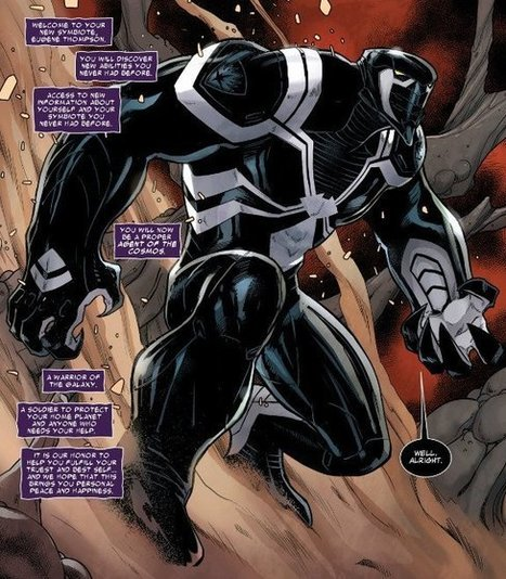 Venom Gets a New Costume in GUARDIANS OF THE GALAXY | Comic Books Artists | Scoop.it