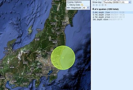 [séisme] Une forte secousse ressentie à Tokyo | Japan Quake Map | Japon : séisme, tsunami & conséquences | Scoop.it