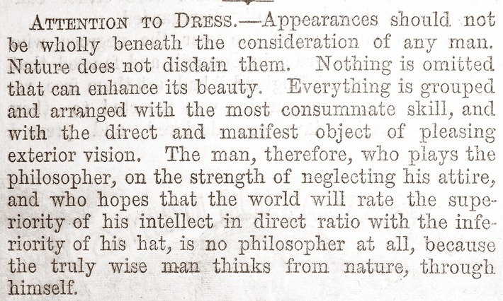 'ATTENTION TO DRESS.' Cassell's Family Paper,... | Cultural History | Scoop.it