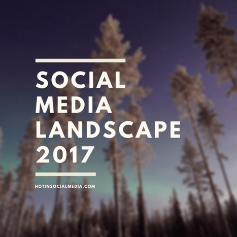 Social Media Landscape 2017 | Technology Innovations | Scoop.it