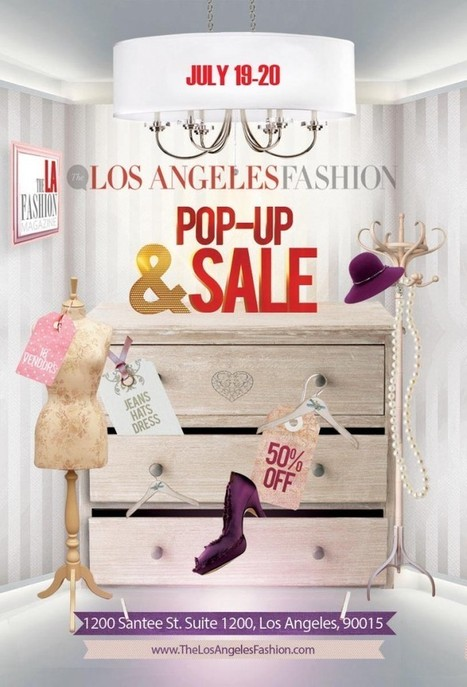 The LA Fashion - July 19-20 PopUp and Sample Sale Event!‏ | Best of the Los Angeles Fashion | Scoop.it