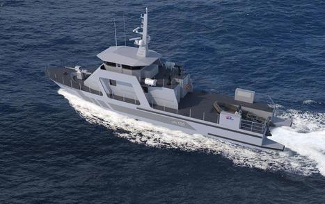 Piriou Va Construire Deux Patrouilleurs De 32 M