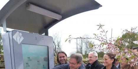 Une borne touristique inaugurée à Montfort | Actu Réseau MONA | Scoop.it