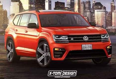 Volkswagen Atlas In Upcoming Cars Scoop It