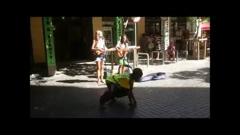 Happy Cape Town diversion, Busking with a Bergie - Street I Am   busking   Scoop.it
