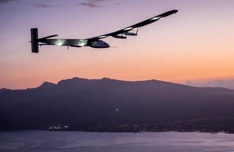 André Borschberg bat le record du monde de durée de vol en solitaire à bord de Solar Impulse 2 | Veille de l'industrie aéronautique et spatiale - Salon du Bourget | Scoop.it