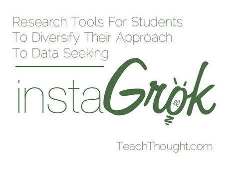 Research Tools For Students To Diversify Their Approach To Data Seeking | Linking Literacy & Learning: Research, Reflection, and Practice | Scoop.it