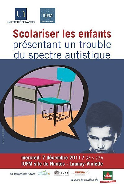 Scolariser les élèves présentant un trouble du spectre autistique - 7 décembre 2011 | ASH et information documentation | Scoop.it