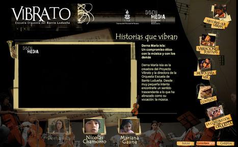 :: DocuMedia: Periodismo Social Multimedia #01 - Vibrato :: | Interactive & Immersive Journalism | Scoop.it
