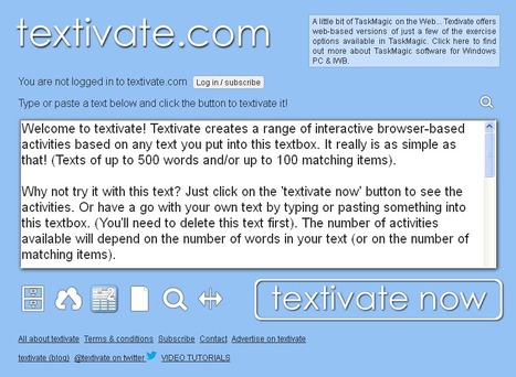 Activate - Motivate - TEXTIVATE! | Social zoo | Scoop.it