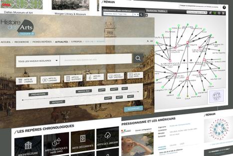 Ressources Histoire des arts - Culture.fr | Classe mapping , un nouveau magazine sur le mind mapping en classe | Scoop.it