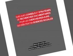 Pédagogie universitaire: Stratégies de recherche documentaire | Recherche et partage sur internet | Scoop.it